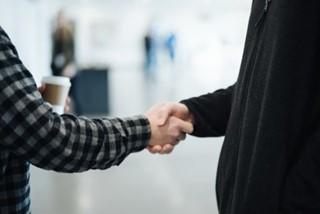 Welcome Handshake