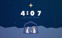 Simple Nativity Countdown