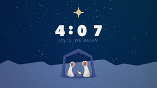Simple Nativity Countdown