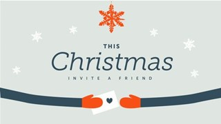 Invite A Friend For Christmas