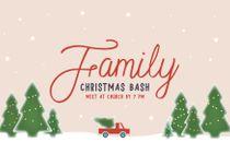 Family Christmas Bash