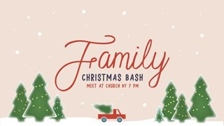 Family Christmas Bash