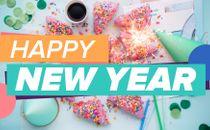 New Year Slide