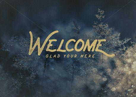 Christmas Welcome  (61447)