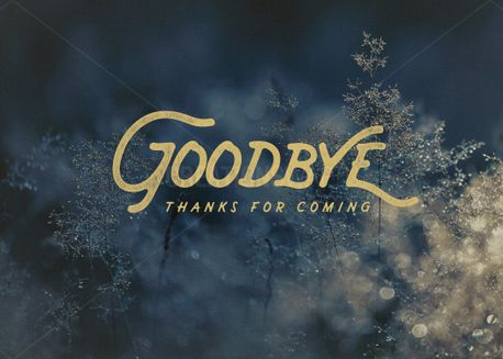 Christmas Goodbye (61449)