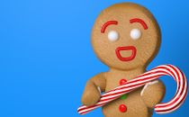Gingerbread Candy Cane