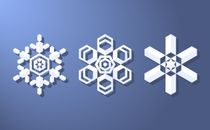 Modern Snowflake Designs