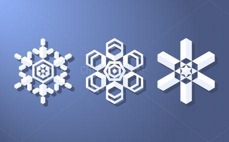 Modern Snowflake Designs (61684)