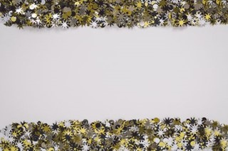 Gold & silver frame or border