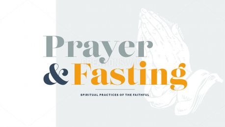 Prayer and Fasting (62105)