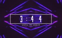 Blur Streaks Countdown