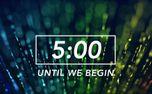 Color Streaks Countdown (62211)