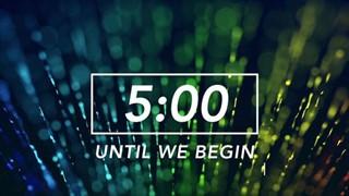 Color Streaks Countdown