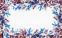Patriotic frame background