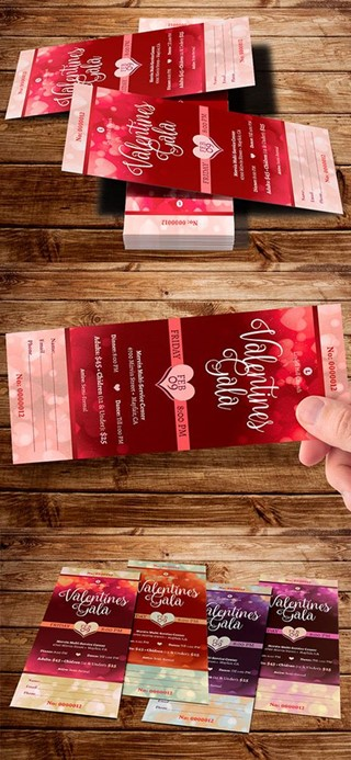 Red Valentines Gala Ticket