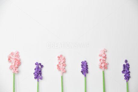 Beautiful Paper Flower Pattern (63451)