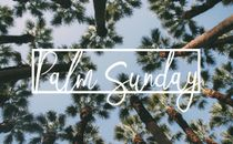 Simple Palm Sunday Slides