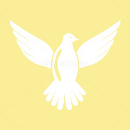 White dove icon (65199)