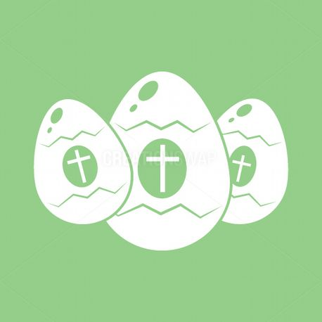 Easter Eggs Icon (65201)