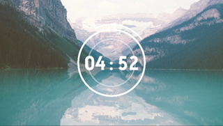 Mountain Lake Countdown