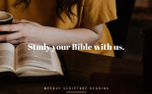 Study your Bible (65565)