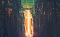 Dark city and cross