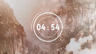 Foggy Cliff Side Countdown