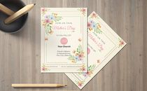 Mother's Day Invite Card