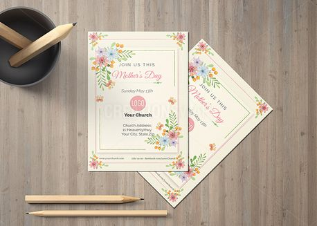Mother's Day Invite Card (65827)