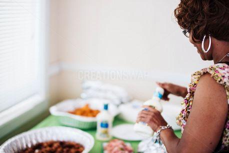 Woman Preparing Food (65846)