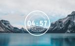 Mountain Lake Countdown (65968)