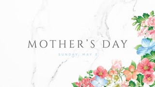 Floral Mother's Day slide