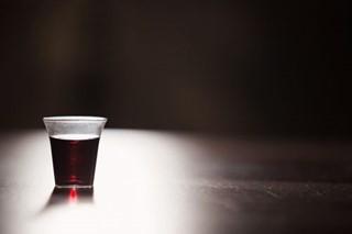 Communion Wine in the Dark