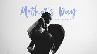 Mother's Day Mom with Child