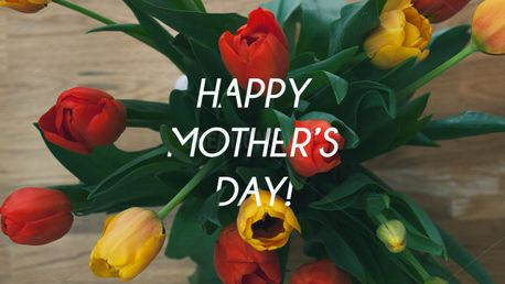 Happy Mother's Day Tulip Slide (66488)