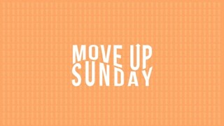 Move Up Sunday Logo and Slide