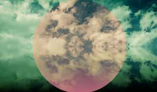 Mirrored Clouds Background