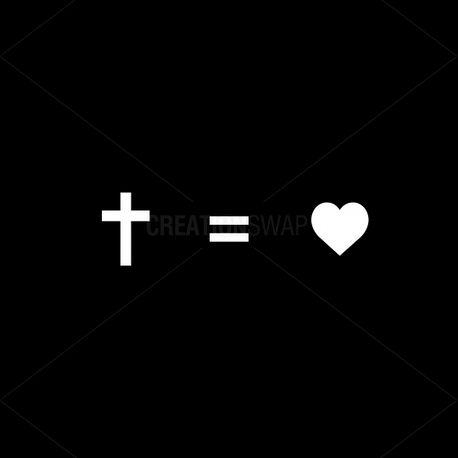 cross = heart (66796)