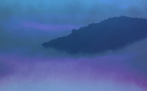 Foggy Mountain Motion Loop