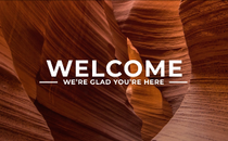 Canyon Welcome Title