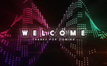 Twist LED Welcome