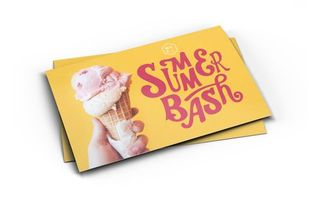 Summer Bash Postcard