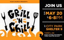 Grill N Chill Logo + Slide