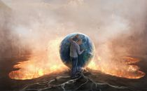 Man and earth