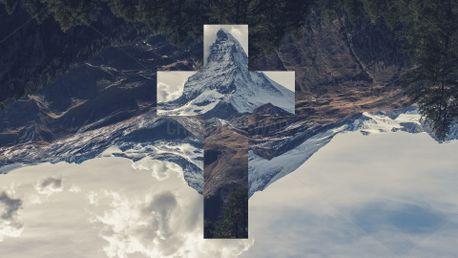 Cross background (68120)