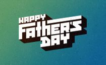 Happy Father's Day Logo 2018
