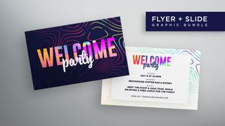 Welcome Party Flyer + Slide