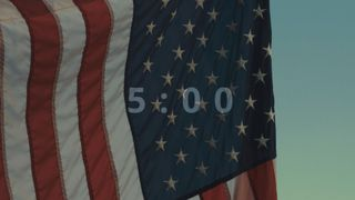 American Flag Countdown