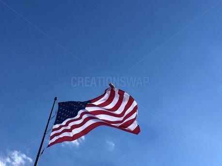 Fourth Of July Flag  (68890)