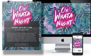 """Oh What A Night"" Event Pack"